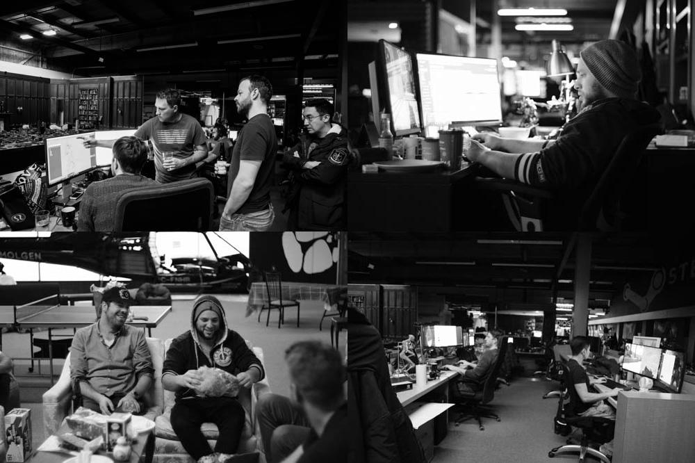 Inside Oats Studios. Images courtesy Chris Harvey.
