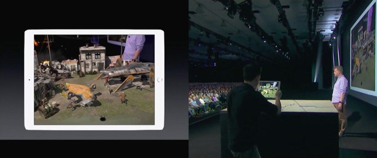 The WWDC demo.
