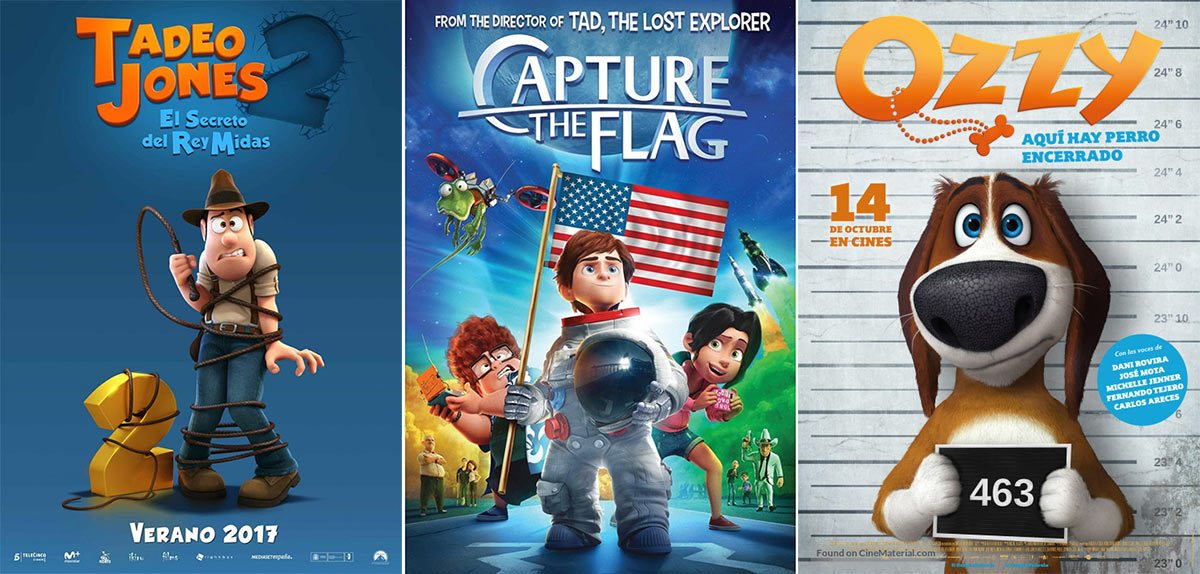 "Animated features that have been rendered in Tenerife include ""Tad the Lost Explorer 2,"" ""Capture the Flag,"" and ""Ozzy."""
