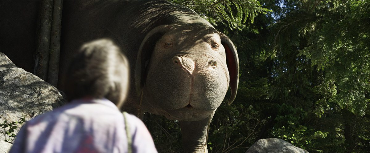 Okja in an outdoor setting.