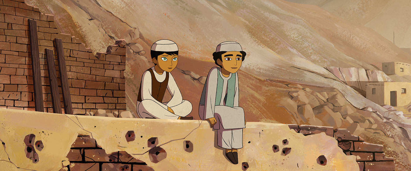 "A still from ""The Breadwinner."""