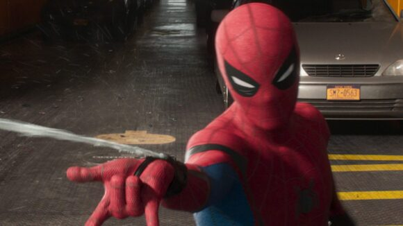 Behind-The-Scenes: Showing Off Spidey's New Swing In 'Spider-Man
