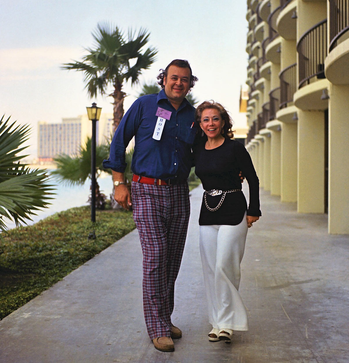 June Foray with San Diego Comic-Con founder Shel Dorf, 1973.