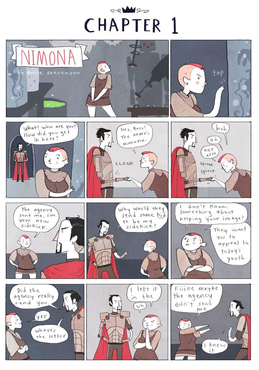 Nimona comic page
