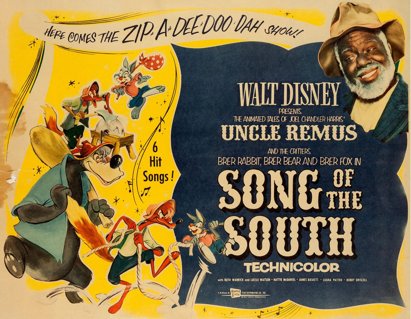 """Song of the South"" theatrical poster."