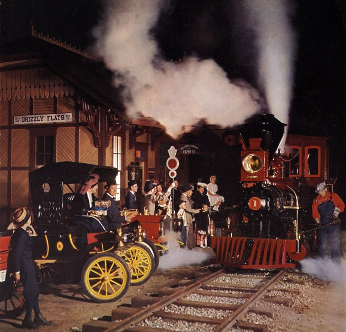 Ward Kimball's Grizzly Flats backyard railroad.