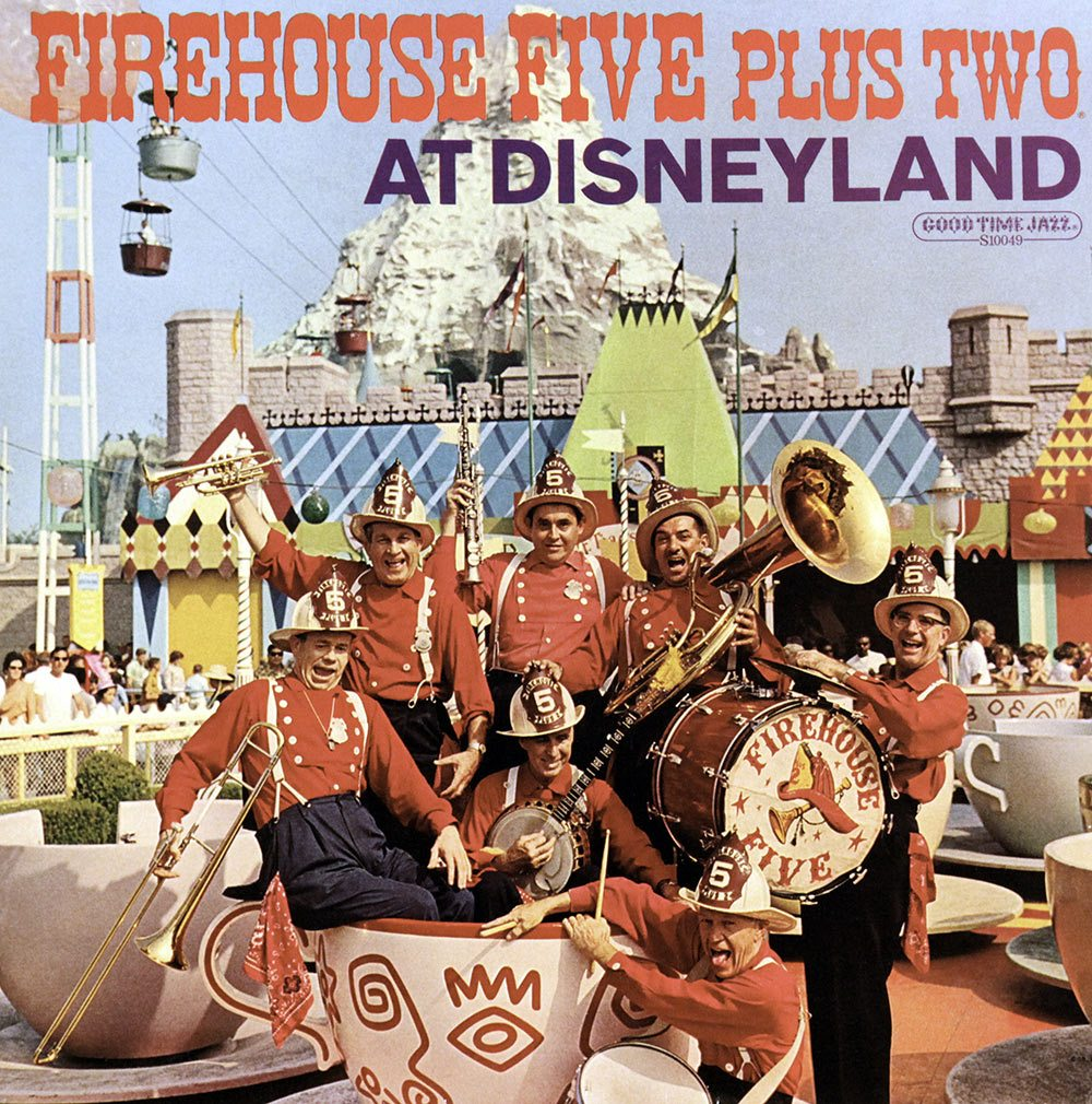 A Firehouse Five Plus Two album cover.