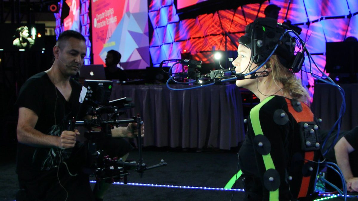 Performance capture was a large part of the Hellblade demo.