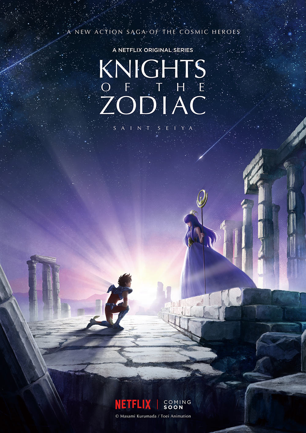 """Knights of the Zodiac: Saint Seiya."""