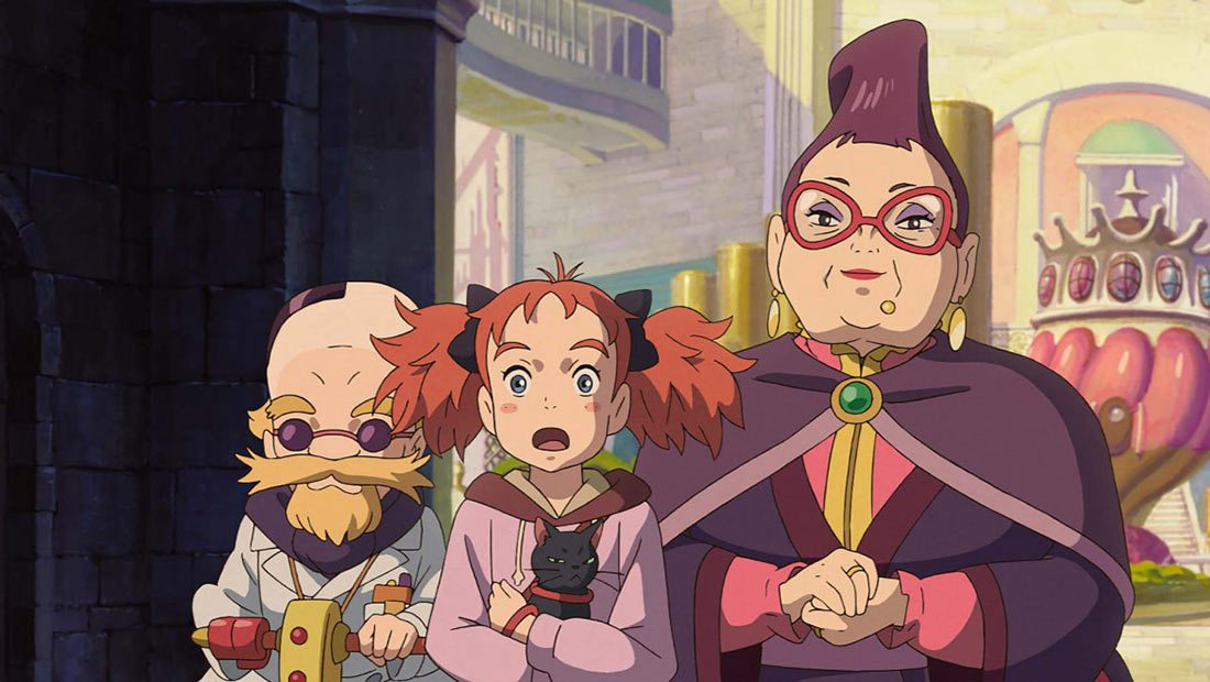 Mary And The Witch S Flower Was Made With Free Opentoonz