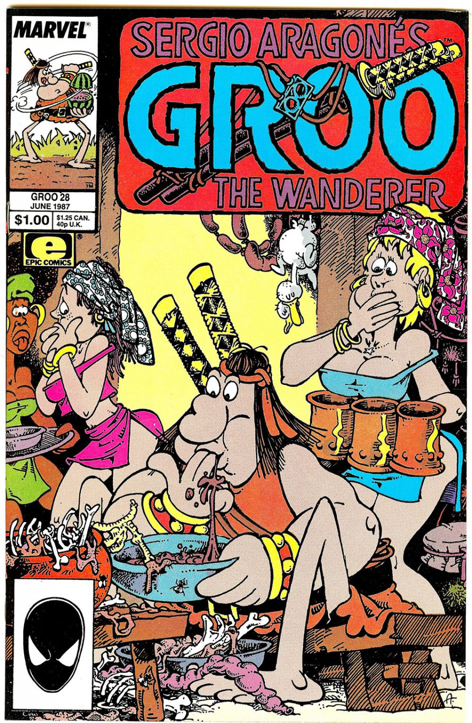 "Sergio Aragonés' long-running comic creation ""Groo the Wanderer."""