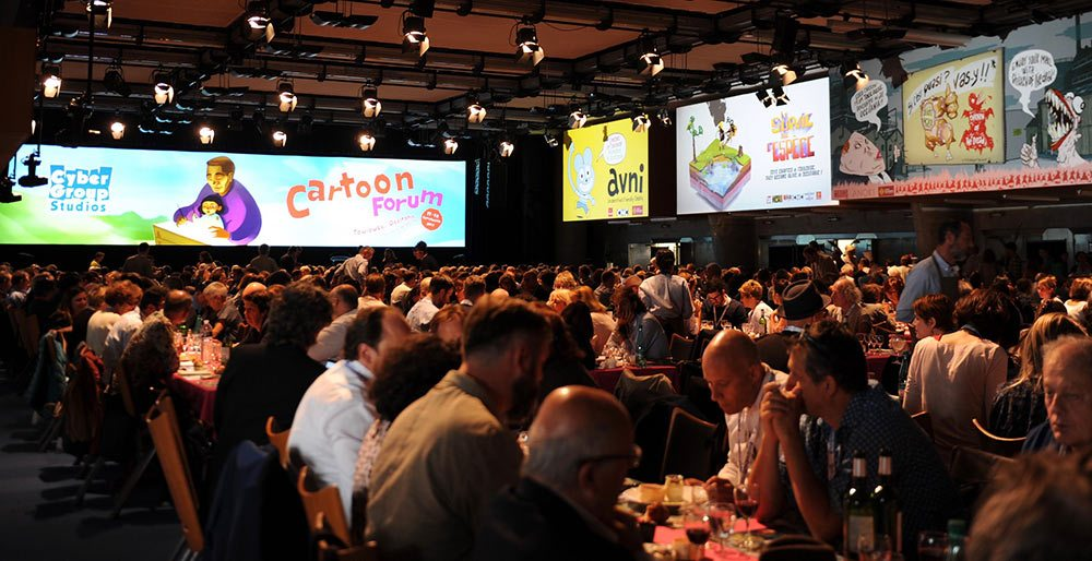 A view of Cartoon Forum 2017.