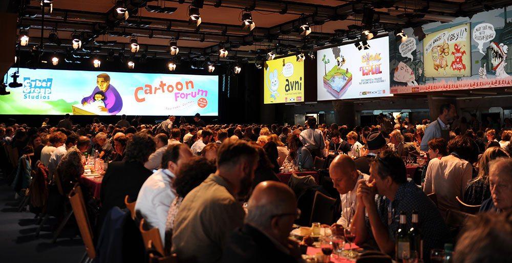 A view of Cartoon Forum 2017.