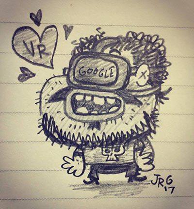 Self-portrait by Jorge Gutierrez.