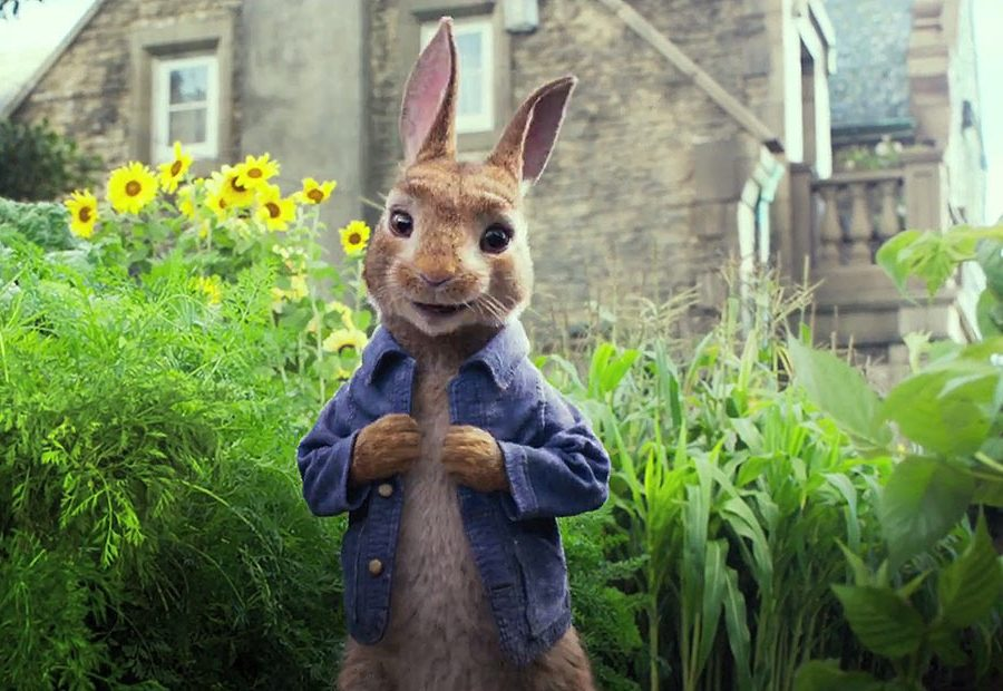 Animals throw a house party in star-studded Peter Rabbit trailer