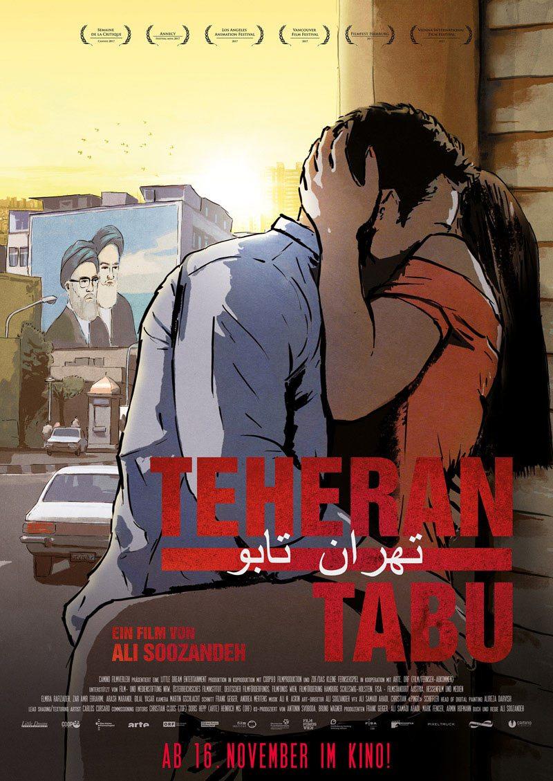 """Tehran Taboo"" poster."