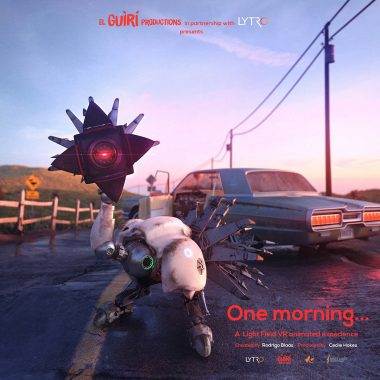 "A poster for ""One Morning."""