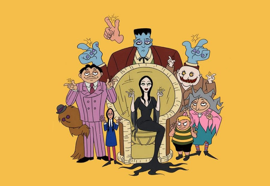 The Addams Family animated movie to be directed by Conrad Vernon?