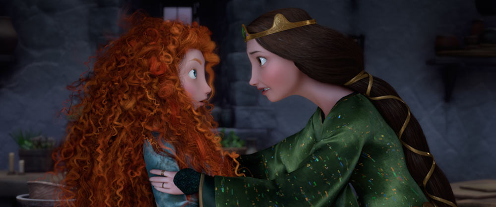 "A still from Pixar's ""Brave,"" co-directed by Brenda Chapman."