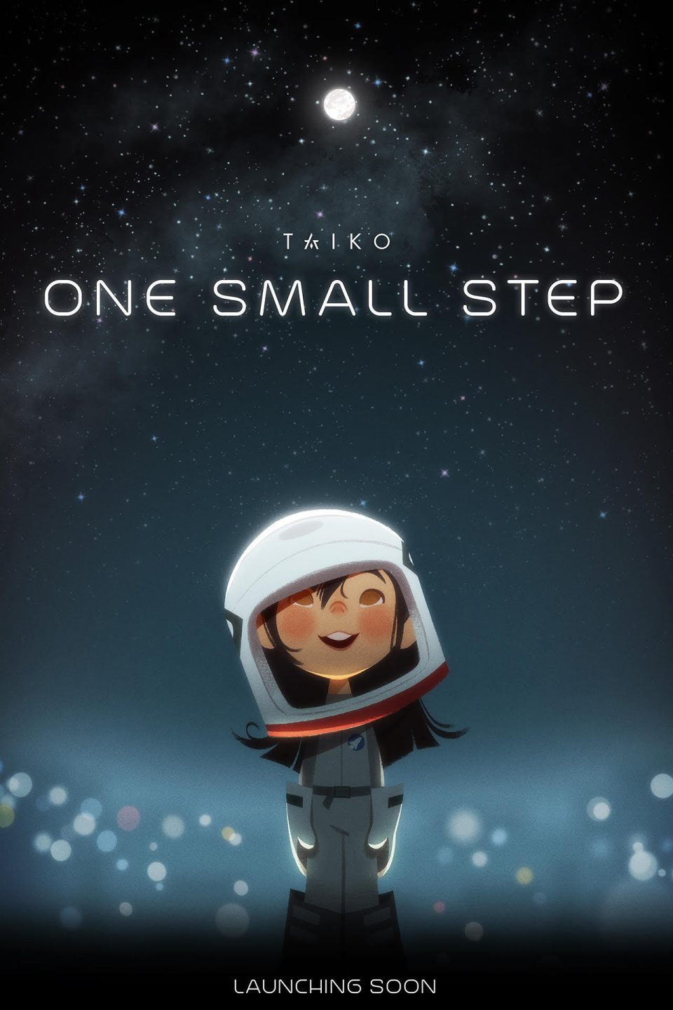 "Poster for Taiko's first short, ""One Small Step."""