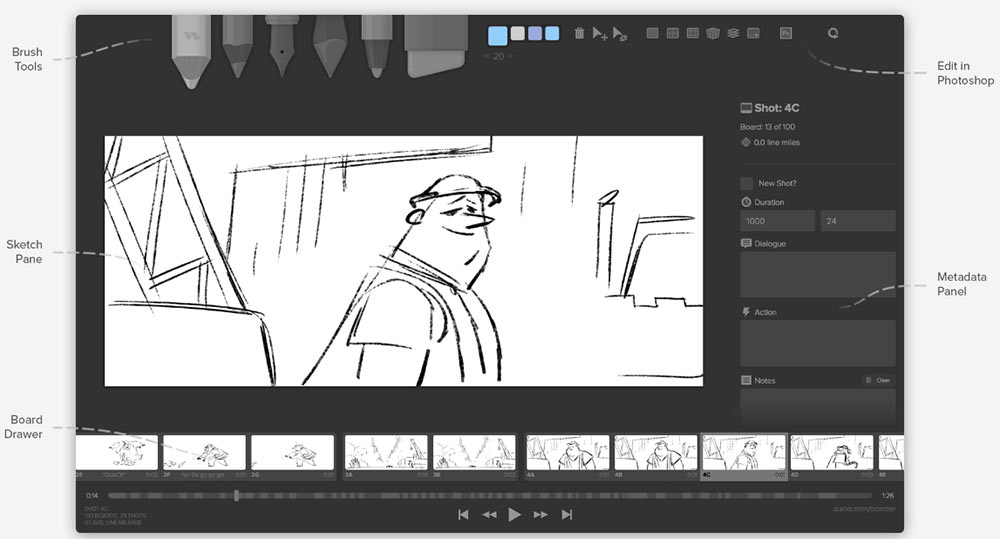 This new storyboarding software is both free and open source for Brewery design software