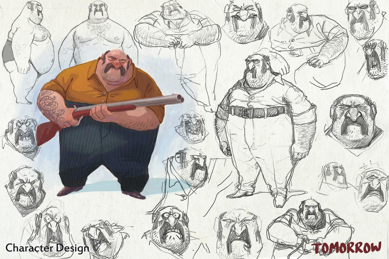 Character design by Mehdi Alibeygi.
