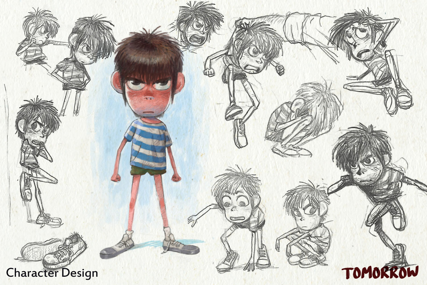 Character design by Mehdi Alibeygi.