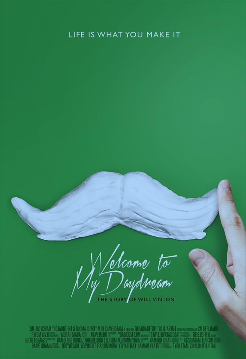 """Welcome to My Daydream"" poster concept."