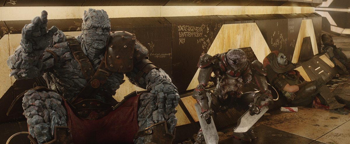 Korg and Miek are two of the stand-out characters in this latest Thor incarnation.