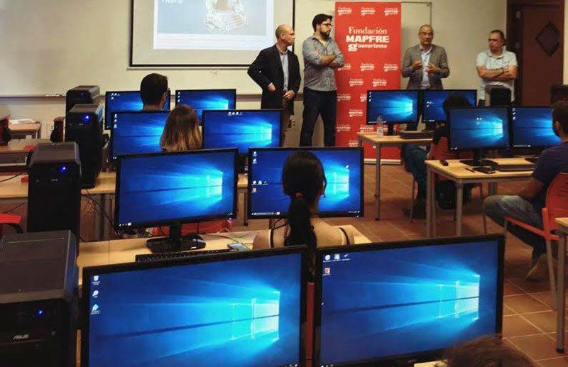 Animation training workshops organized in Tenerife by Raul Colomer.
