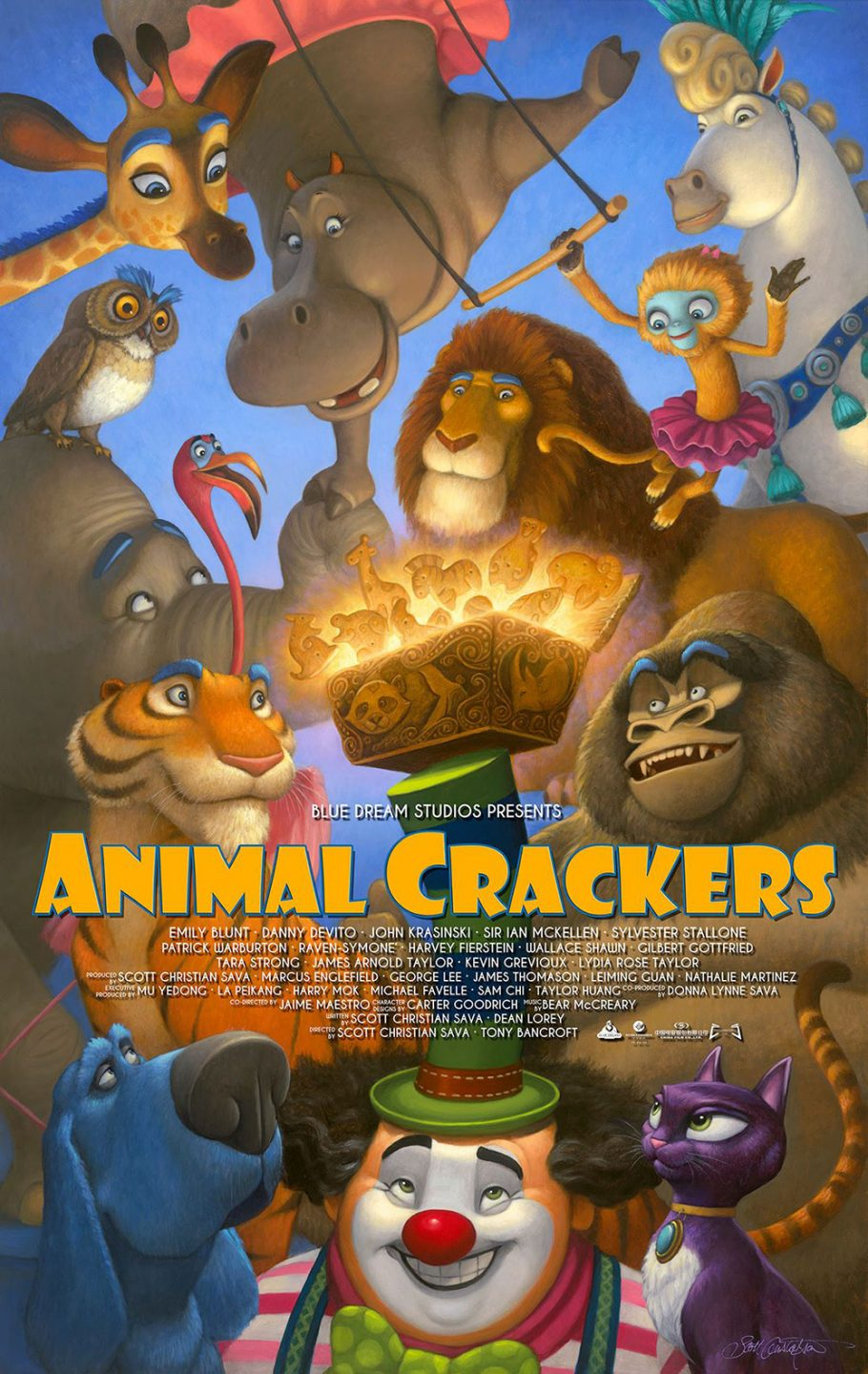 """Animal Crackers."""
