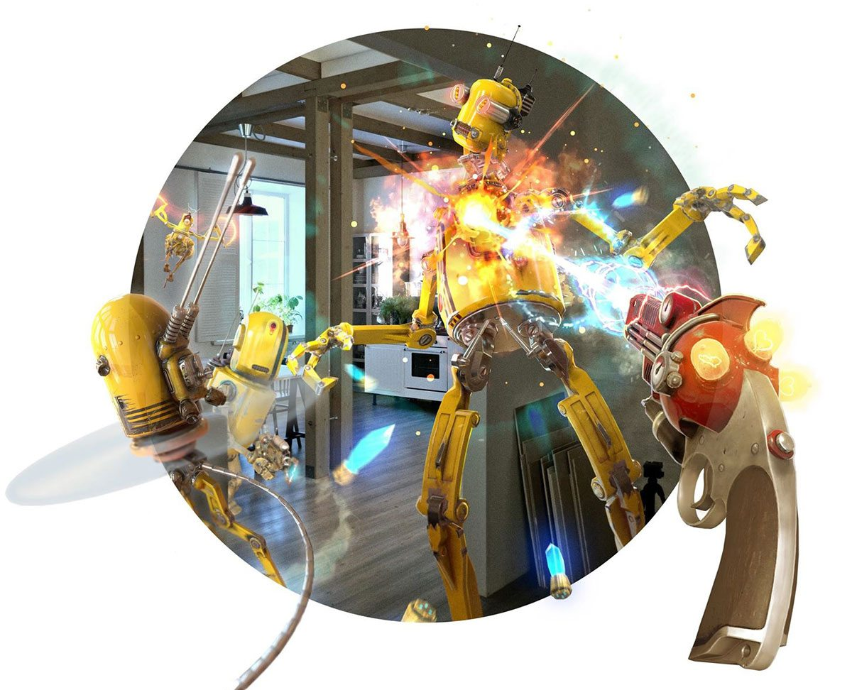 Companies like Weta Workshop are developing mixed reality content for Magic Leap.