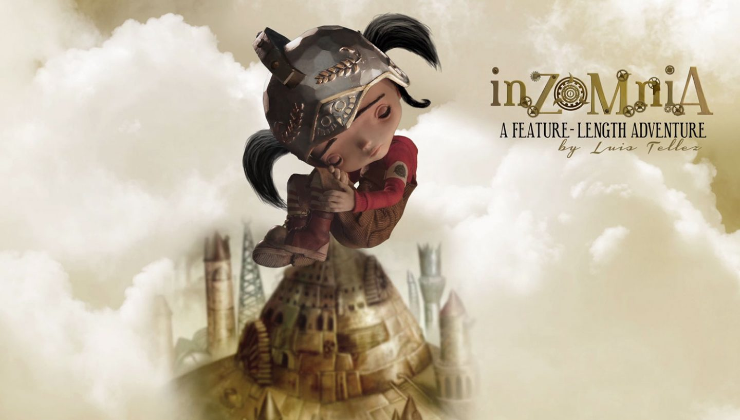 "Camila's puppet created in Poland for ""Inzomnia"" stop-motion feature film."
