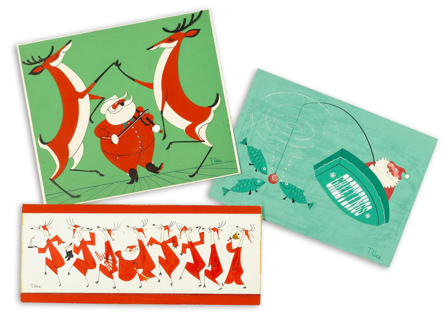 T. Hee Christmas Card