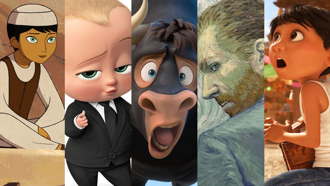Nominees For Best Animated Movies