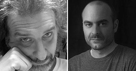 Directors Pedro Rivero (l) and Alberto Vazquez.