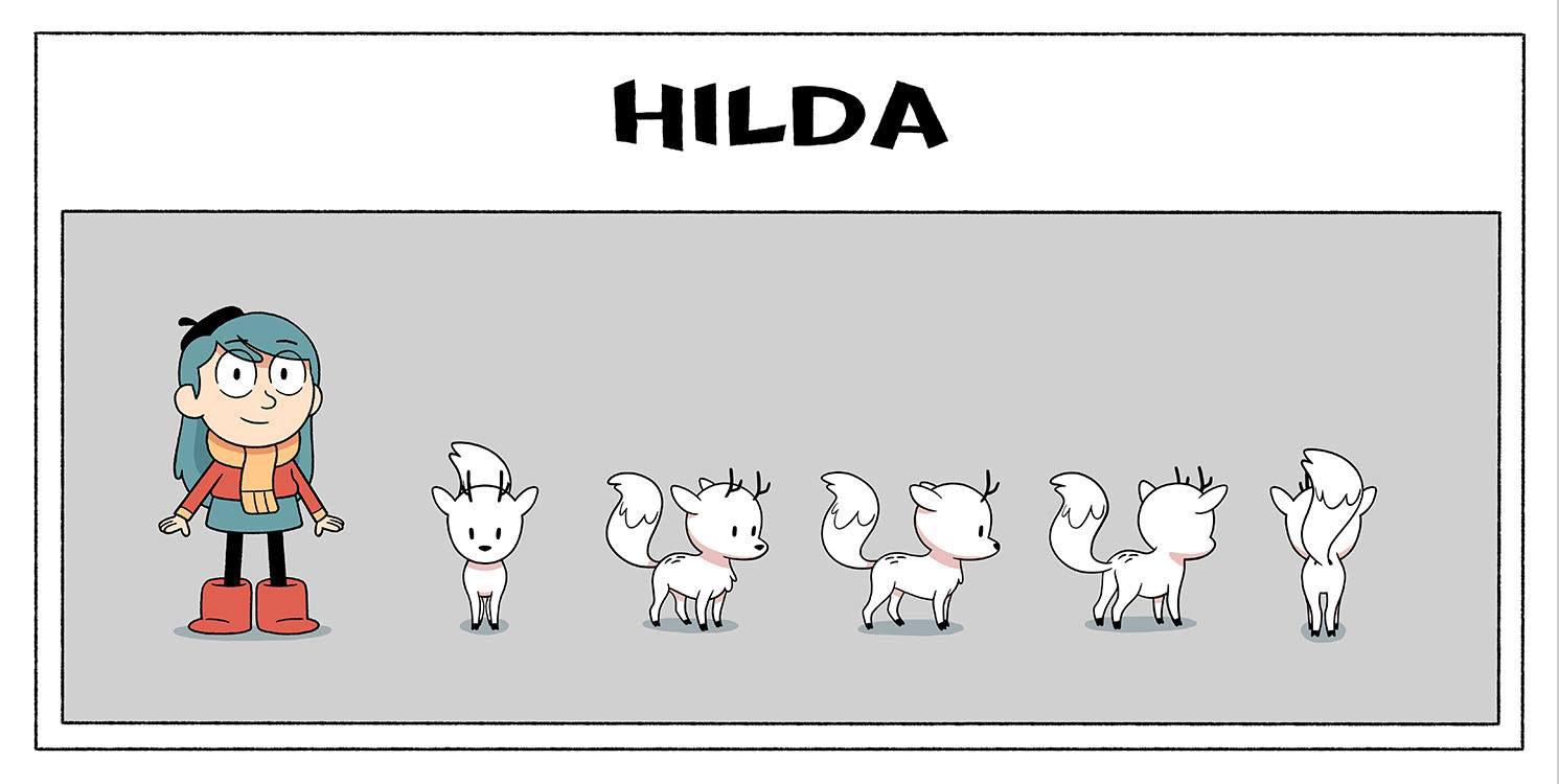 """Hilda"" series."