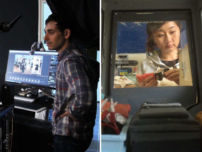 Directors Max Porter and Ru Kuwahata.