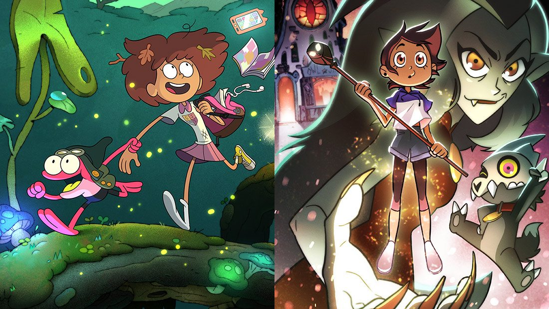 Disney Tv Animation Will Produce 2 New Series Amphibia And The Owl House-6824