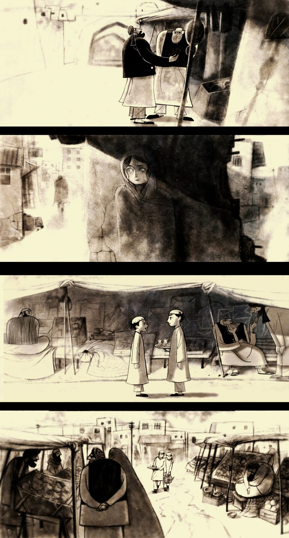 Designing 'The Breadwinner': Art Director Reza Riahi Talks