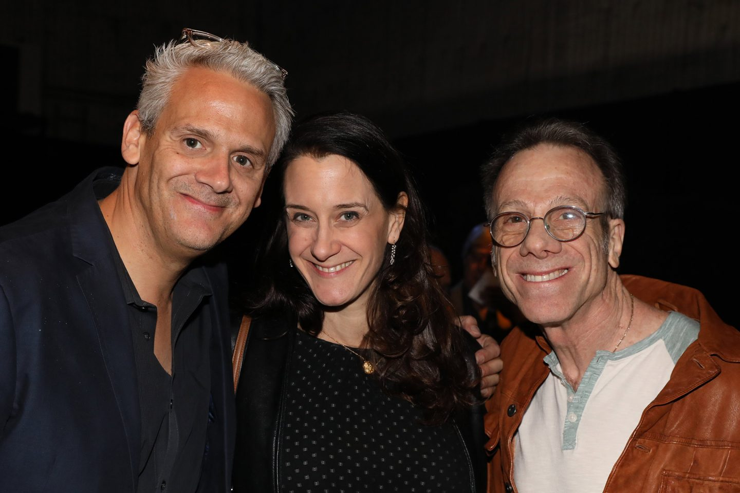 From l-r, Sam Register, Allison Abbate (executive vice president, Warner Animation Group) and Frank Gladstone (executive director, ASIFA-Hollywood).