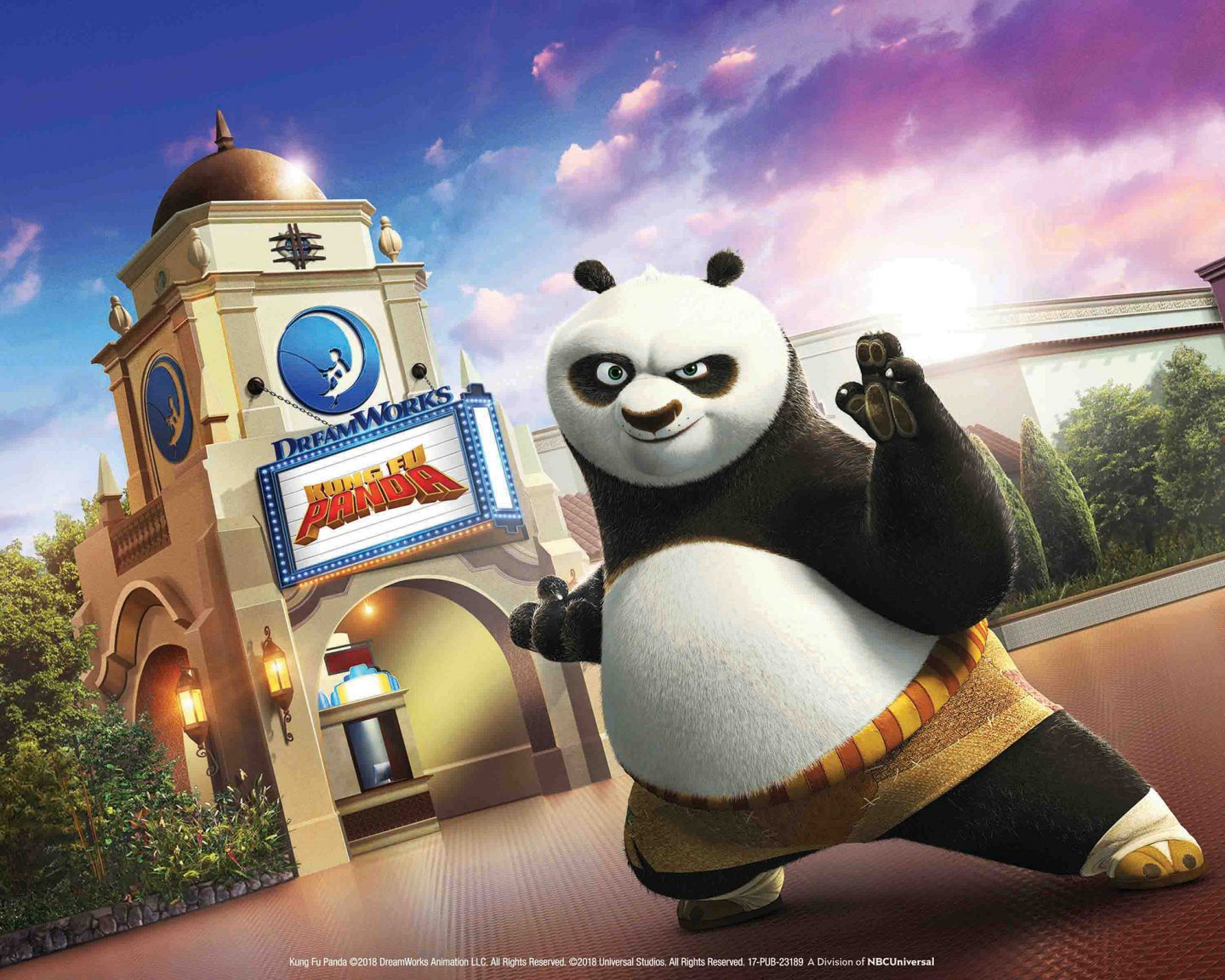 """Kung Fu Panda: The Emperor's Quest."""