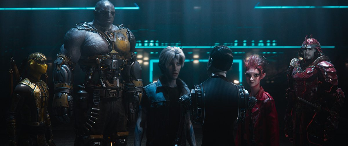 How 'Ready Player One' Combined Virtual Production And Motion