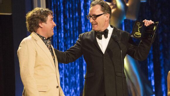 spongebob creator stephen hillenburg honored with special emmy award