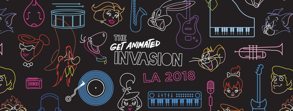 Get Animated Invasion at Grammy Museum.