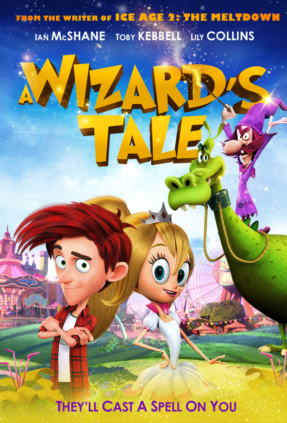"""""""A Wizard's Tale"""" poster."""