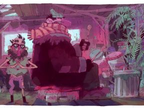 Another piece of concept art from the special.