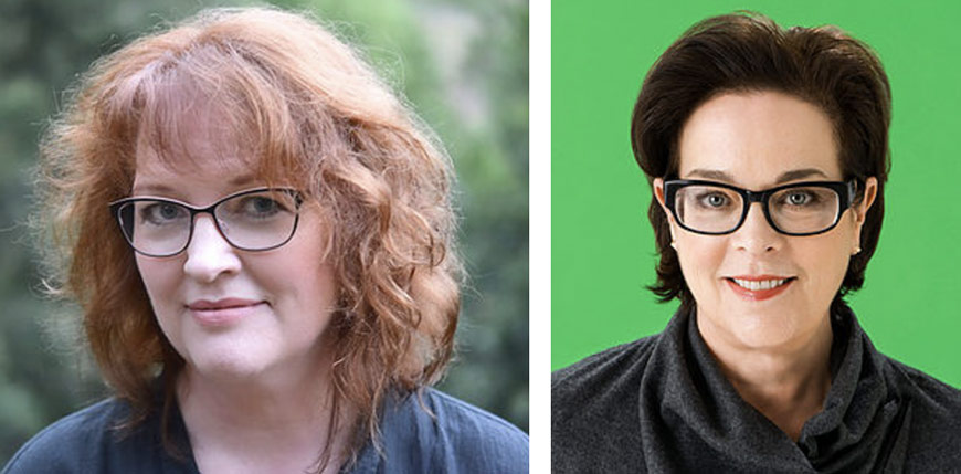 "The event will feature keynotes by ""Brave"" director and writer Brenda Chapman (left) and Brown Johnson, executive vp and creative director of Sesame Workshop."