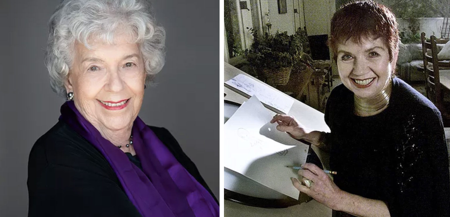 Two of the Breaking the Frame's special guests will be Enid Denbo Wizig and Jane Shattuck-Takamoto-Baer, who worked as animators in the mid-1940s and '50s at Warner Bros. and Disney.