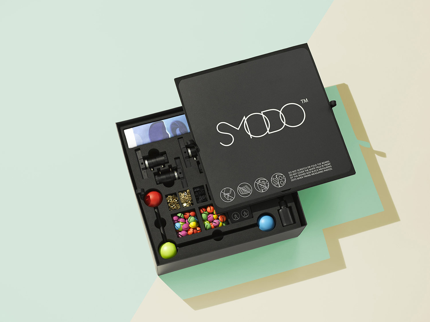 The SMODO kit will ship in one convenient box.